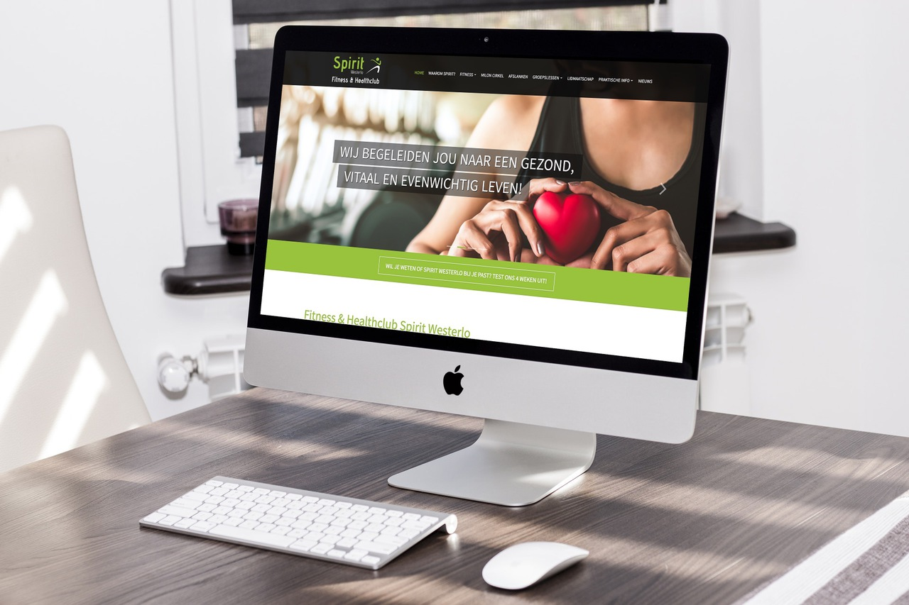 Website Spirit Fitness